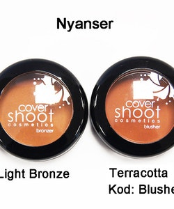 Cover Shoot No More Shine Blusher - Light Bronze