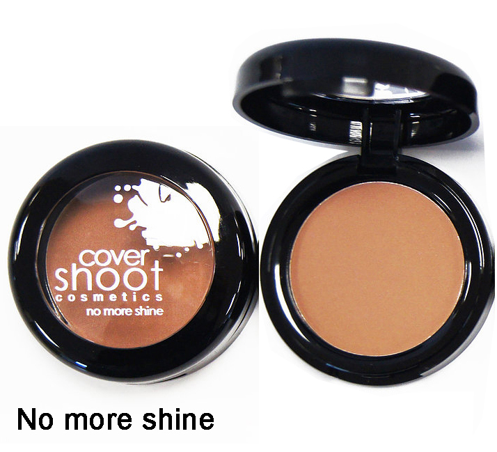 CoverShootNoMoreShineBlusher - No More Shine