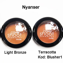 Cover Shoot No More Shine Blusher - Nude