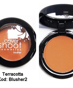 Cover Shoot No More Shine Blusher - Terracotta