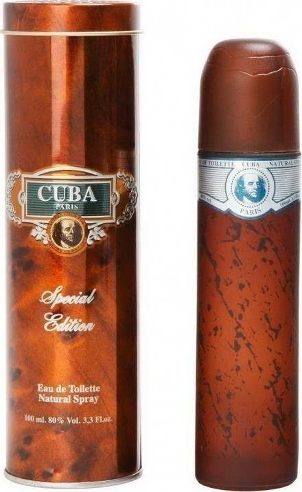 Cuba BLUE SPECIAL EDITION Men EDT 100ml
