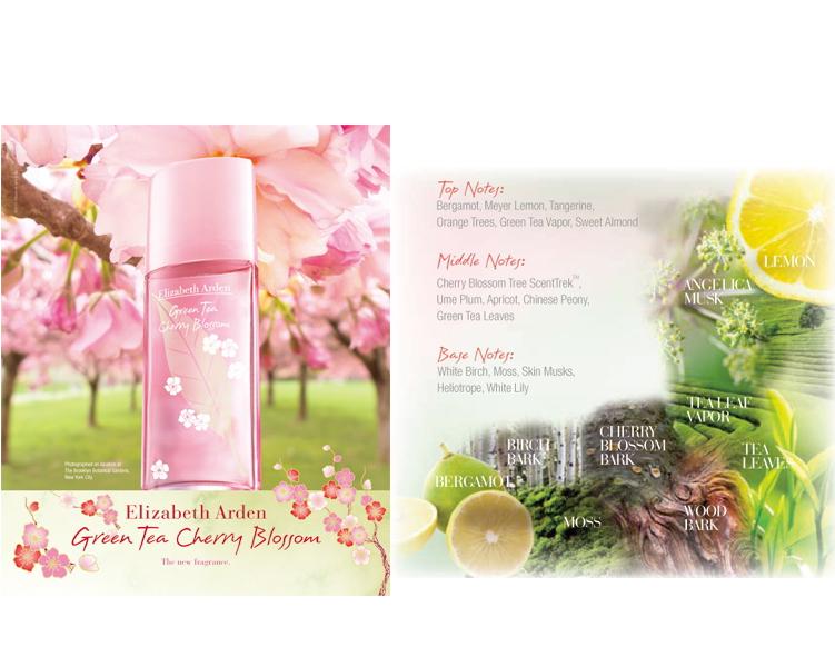 Elizabeth Arden Green Tea Cherry Blossom EdT 50 ml