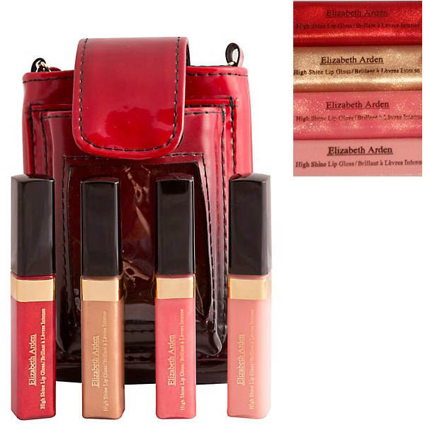 Elizabeth Arden High Shine Lip Gloss 4-pack Luxury Set