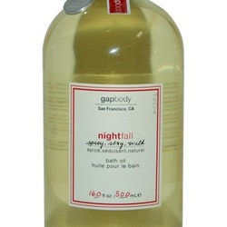 Gap Nightfall Bath Oil 500ml