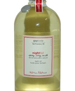 Gap Nightfall Bath Oil 500ml