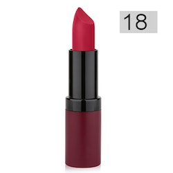 Golden Rose Velvet Matte Lipstick - 18 Old Rose Red