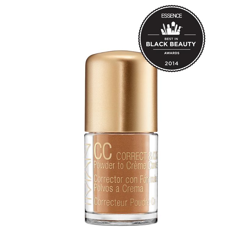 IMAN CC Correct & Cover Skin Tone Evener Powder to Creme - Clay Medium Deep