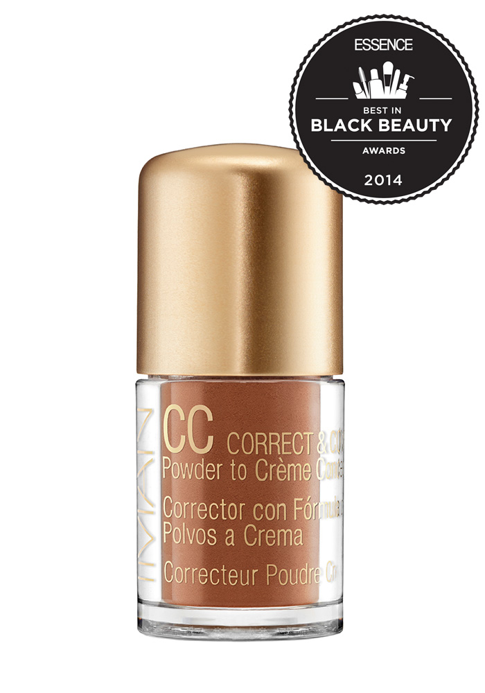 IMAN CC Correct & Cover Skin Tone Evener Powder to Creme - Earth Medium