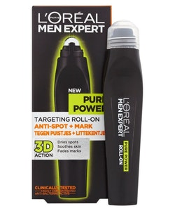 L'Oréal Men Expert Pure Power Roll On- Antispots + Marques