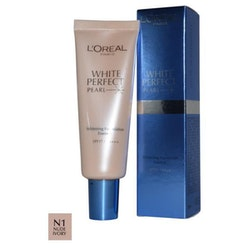 L Oreal White Perfect Pearl Foundation - Nude Ivory