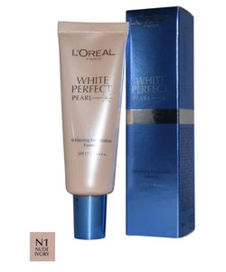 L'Oreal White Perfect Pearl Foundation - Nude Ivory