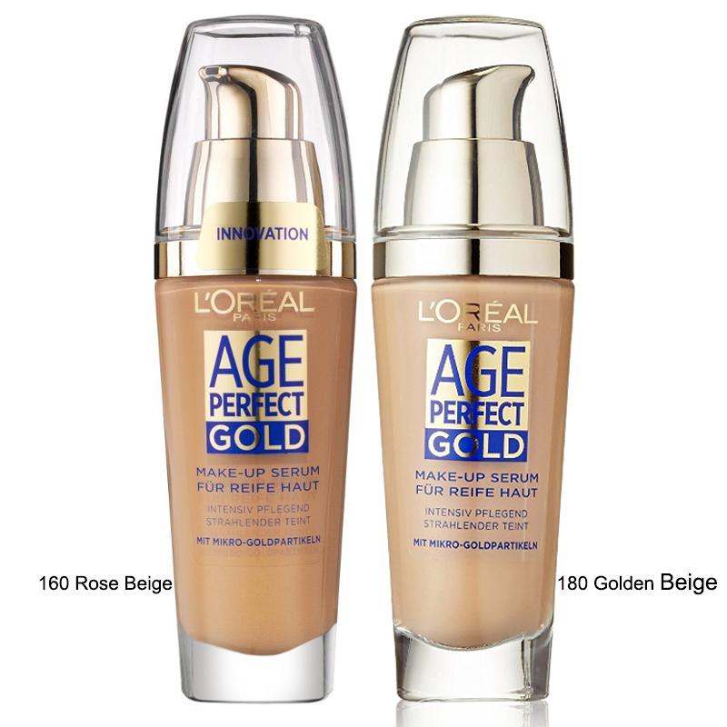 L'Oreal Age Perfect GOLD Makeup Serum - 160 Rose Beige