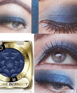 L'Oreal Color Appeal Chrome Intensity Eyeshadow -  Blue Jean