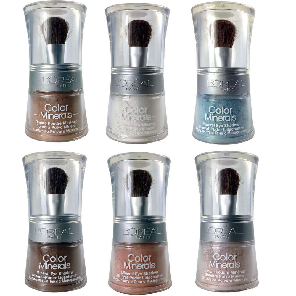 L'oreal Color Minerals  Loose Powder Eye Shadow - 06 Golden Sienna