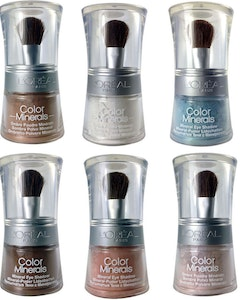 L'Oreal Color MINERALS Eye Shadow Loose Powder - 04 Nude Crystal