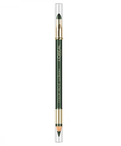 L'Oreal Color Riche Le Smoky Pencil Eye Liner & Smudger - Antique Green