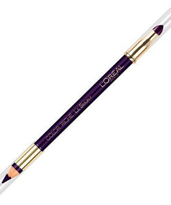 L'Oreal Color Riche Le Smoky Pencil Eye Liner & Smudger - Purple Dream