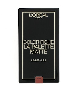 L'Oreal Color Riche Lip Palette - Matte Nude
