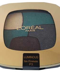 L'Oréal Color Riche Quad Eye Shadow-Luminous Baie d'Émeraudes