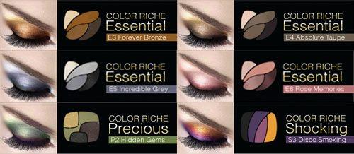 L'Oréal Color Riche Quad Eye Shadow-Luminous Baie d'Émeraudes