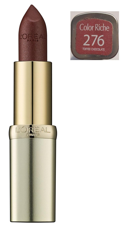 L'Oreal Color Riche Serum Lipstick - 276 Toffee Chocolate