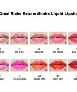 L'Oreal Colour Riche Extraordinaire Liquid Lipstick - 204 Tangerine Sonate