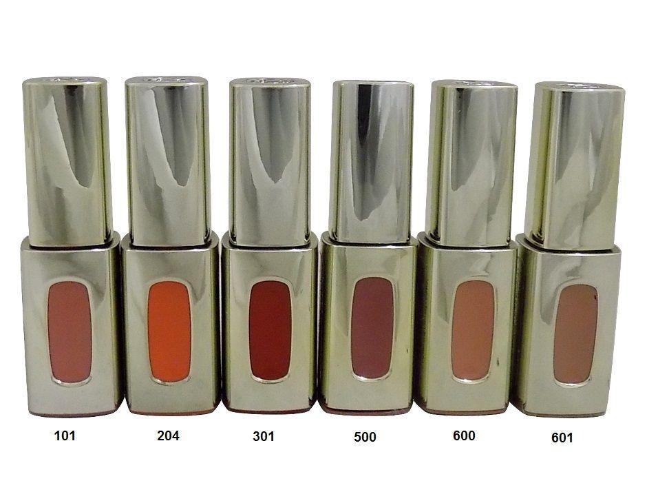 L'Oreal Color Riche Extraordinaire Liquid Lipstick - 204 Tangerine Sonate