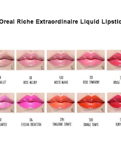 L'Oreal Colour Riche Extraordinaire Liquid Lipstick - Melody rose