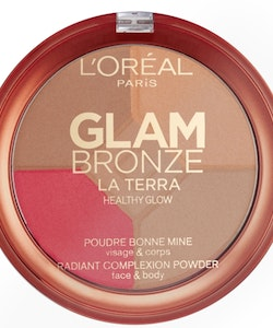 L'Oreal Glam Bronze La Terra Healthy Glow Powder - 02 Medium SPERANZA