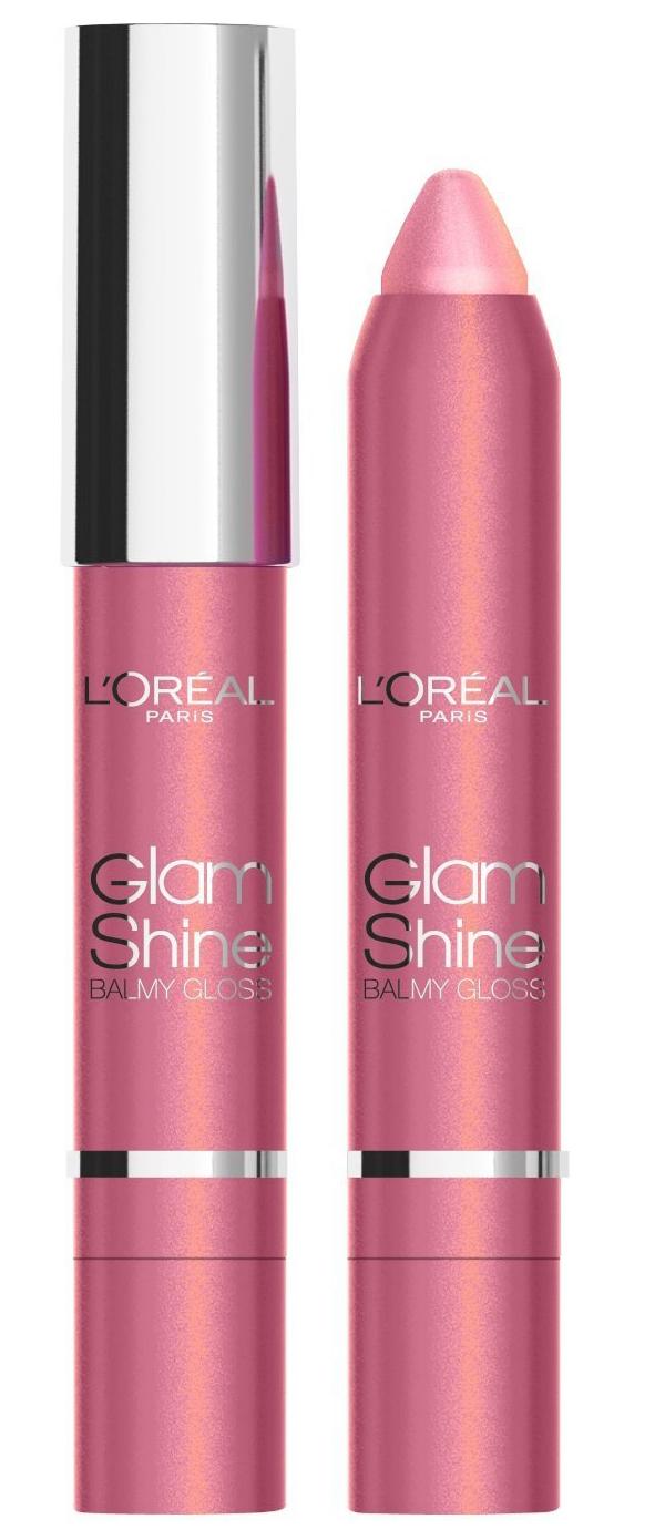 L'Oreal Glam Shine Balmy Gloss -  912 Sin For Peach
