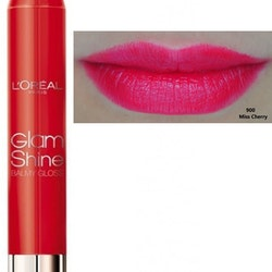 L'Oreal Glam Shine Balmy Gloss-900 Miss Cherry