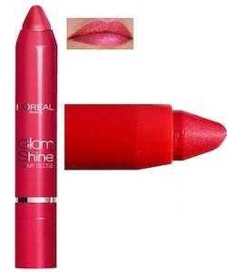L'Oreal Glam Shine Balmy Gloss-901 Sorbet Rose