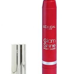 L'Oreal Glam Shine Balmy Lip Gloss - 909 Pomegranate Punch