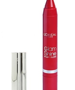 L'Oreal Glam Shine Balmy Lip Gloss - 909 Pomegranate Punch