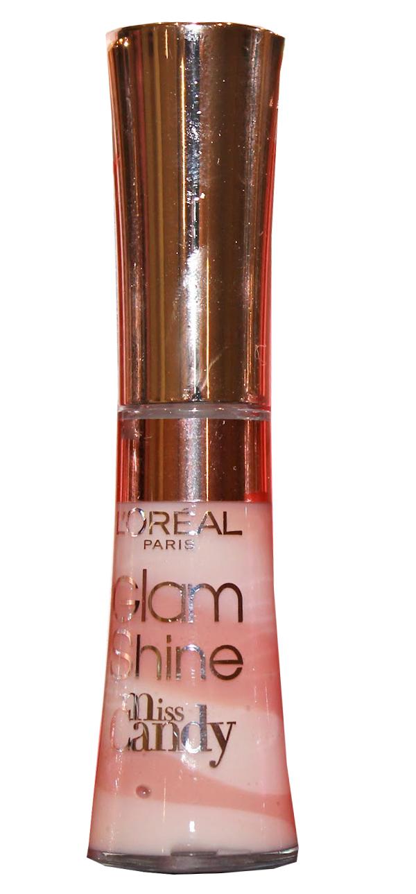 L Oréal Glam Shine Miss Candy Lip Gloss Reflexion - 711 Nude BonBon