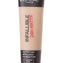 L'Oreal Infallible 24H-Matte Mattifying Foundatio - Natural Rose