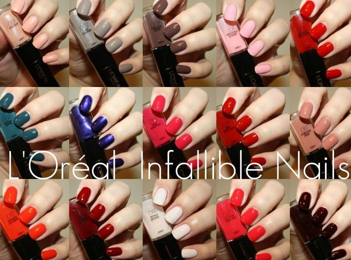 L'Oreal Infallible Gel Effect 2-Step DUO Nail Polish - 001 Stay Nue