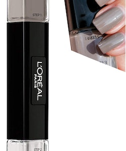 L'Oreal Infallible Gel Effect 2-Step DUO Nail Polish - 002 Gris Eternel