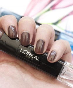 L'Oreal Infallible Gel Effect 2-Step DUO Nail Polish - 003 Timeless Taupe