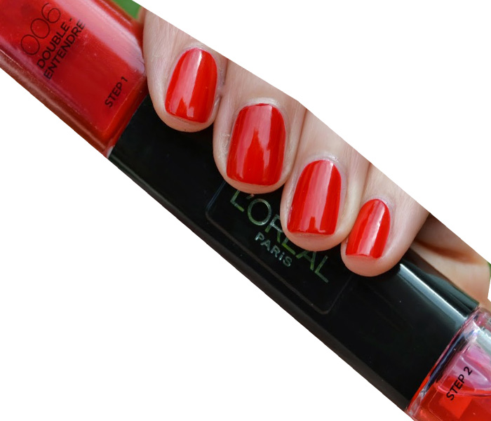 L'Oreal Infallible Gel Effect 2-Step DUO Nail Polish - 006 Double Entendre