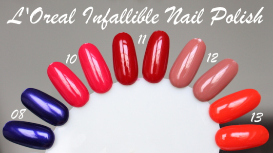 L'Oreal Infallible Gel Effect 2-Step DUO Nail Polish - 013 Orange Extreme