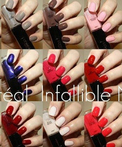 L'Oreal Infallible Gel Effect 2-Step DUO Nail Polish - 021 Always A Lady