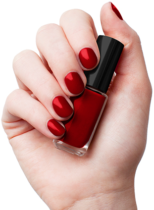 L'Oreal Infallible Gel Effect 2-Step DUO Nail Polish -011 Red Infallible