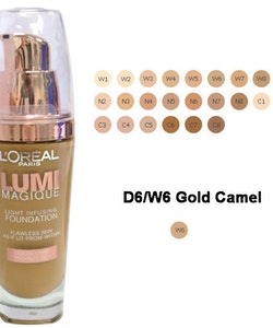 L'Oreal Lumi Magique Light Infusing Foundation - W6 Gold Camel