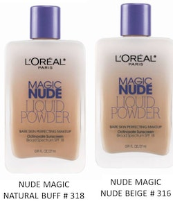 L'Oreal Magic Nude Eau De Teint Fresh Foundation - Nude Beige