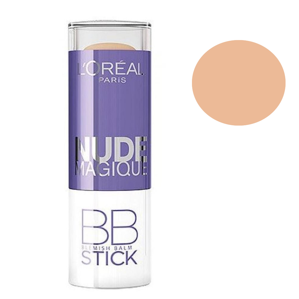 L Oreal Nude Magique BB Blemish Balm Stick -  01Light To Medium