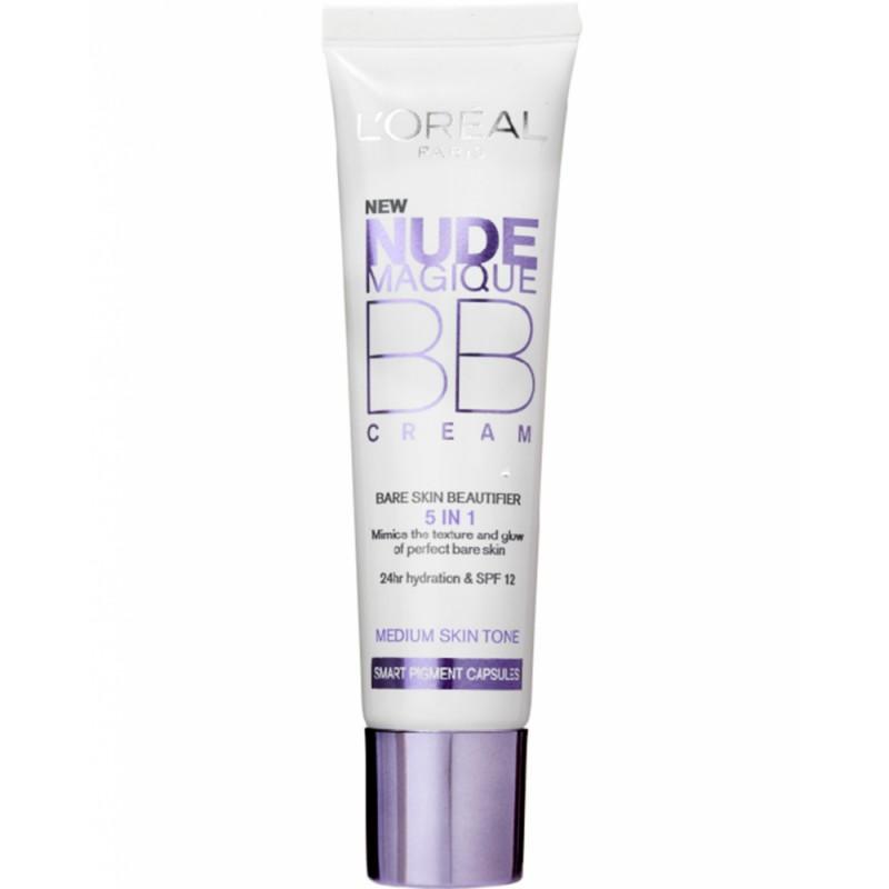 L'Oréal Nude Magique BB Cream 5 in 1 Bare Skin Beautifier - MEDIUM