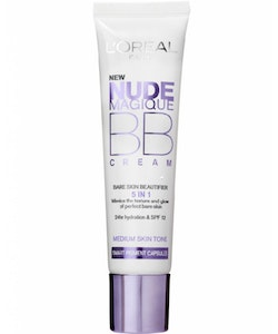 L'Oréal Nude Magique BB Cream 5 in 1 Bare Skin Beautifier - MEDIUM