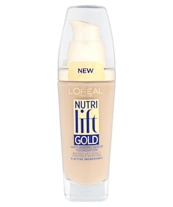 L'Oreal Nutri Lift Gold Anti-Aging Serum Foundation-130 Warm Ivory
