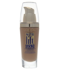 L'Oreal Nutri Lift Gold Anti-Aging Serum Foundation-250 Sand